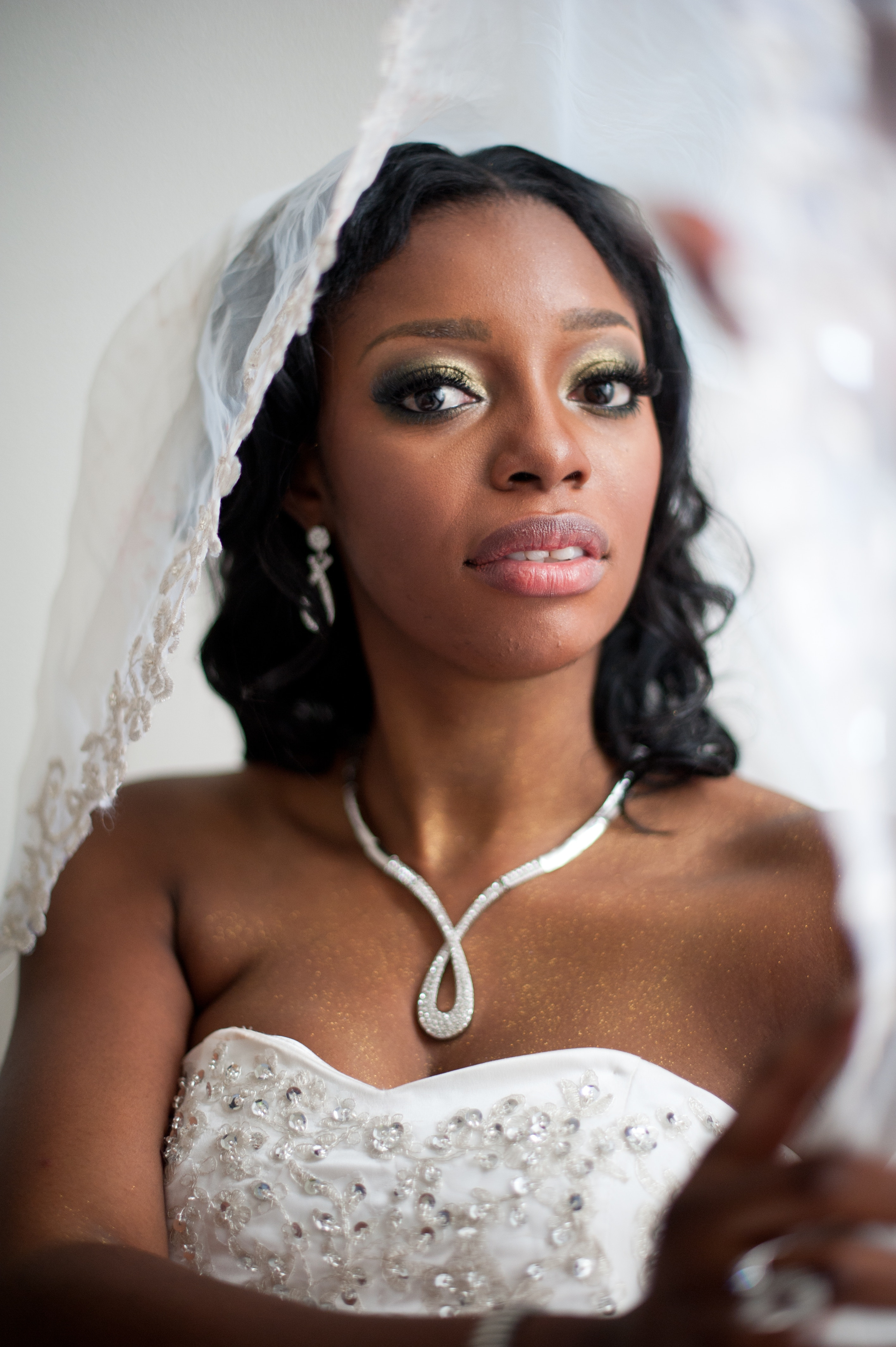 Black Bride Portrait